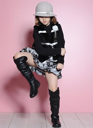 Barbie Çizme Siyah